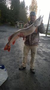 Kevin and Justus big fish