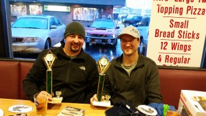 Brian and Chad 2nd place